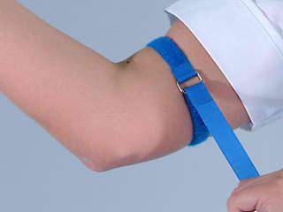 tourniquet + IV insertion tips