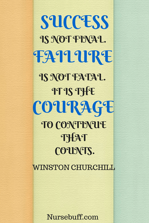 churchill inspirational nursing quotes