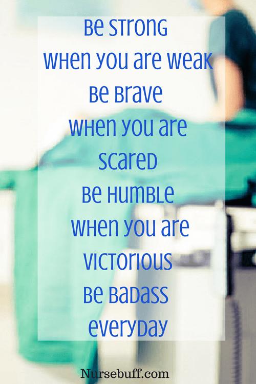 inspirational nurse quote
