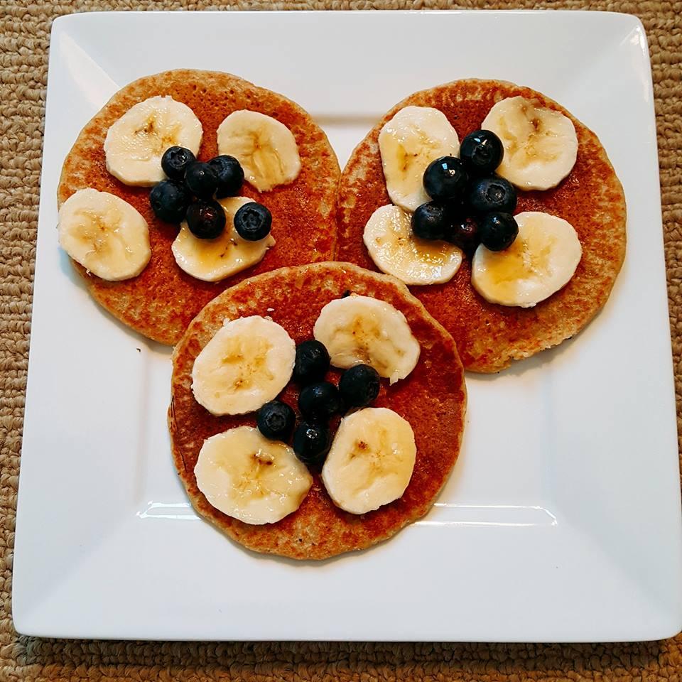 Vegan Coconut and Quinoa Pancakes