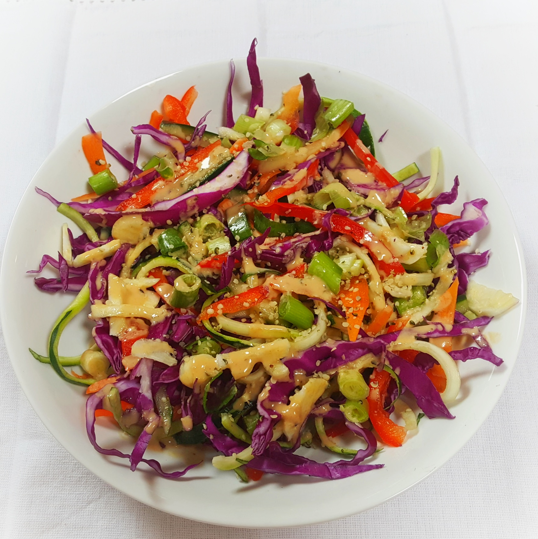 Plant Based Pad Thai Salad