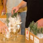 wedding seedlings presentation idea