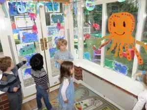 Preschool children in leicester