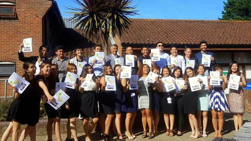 Filipino nurses get 100% passing rate in UK exam