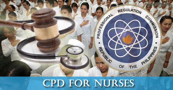 Nurses need 15 CPD units for PRC ID renewal starting January 2018