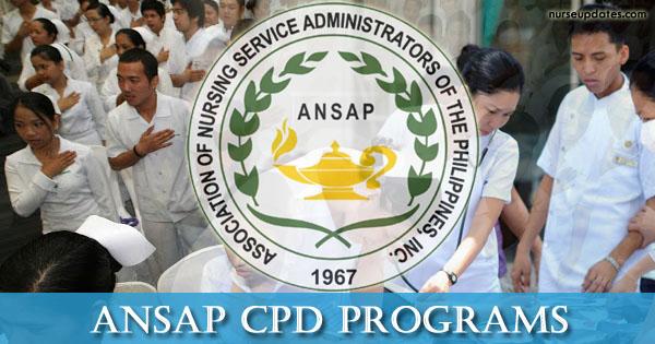 ANSAP Programs, Seminars with CPD units