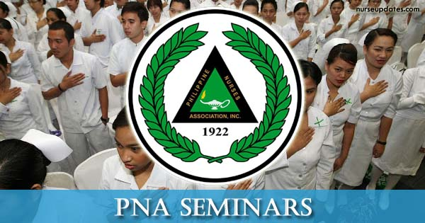 PNA CPD Seminars for June 2018