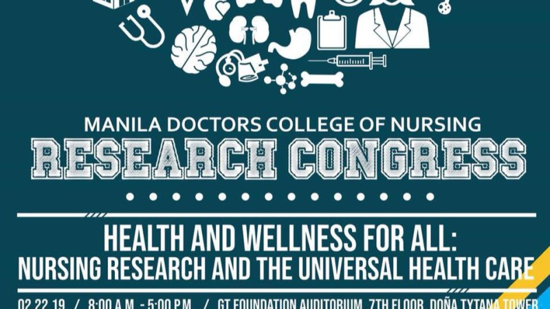 Tytana's Manila Doctors College of Nursing to hold 12th Research Congress