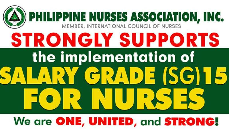PNA, Ang Nars fight for SG 15 rate for nurses, to hold 'Nationwide Walk' on Feb. 26