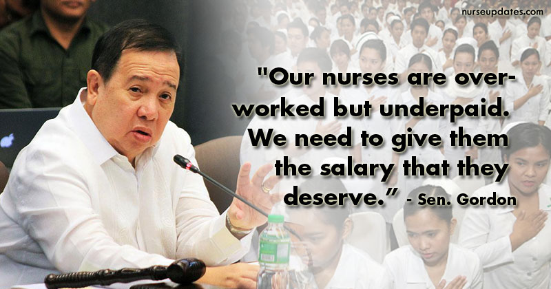 Gordon calls for immediate implementation of SG 15 minimum pay of nurses