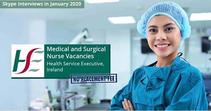 Ireland's HSE hiring nurses, salary up to P2.5 million annually