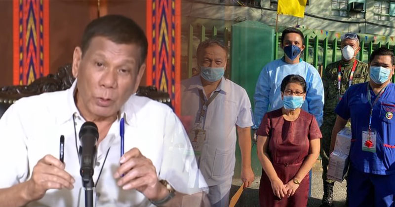 Duterte orders release of benefits for healthcare workers