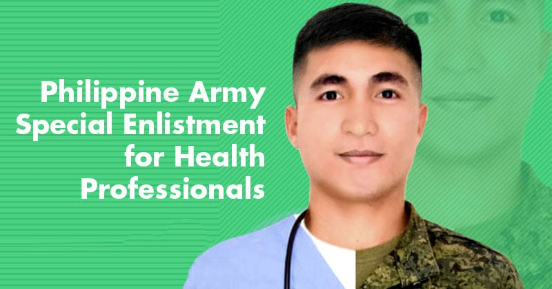 Philippine Army holds Special Enlistment for health professionals