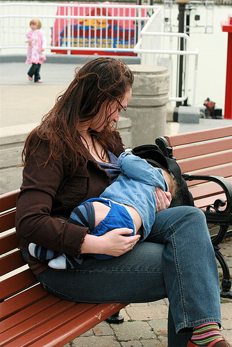 Objections Breastfeeding in Public