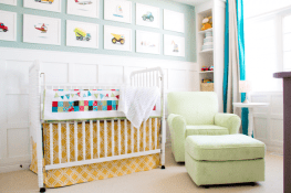 bright and happy nursery