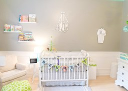 modern colorfull nursery