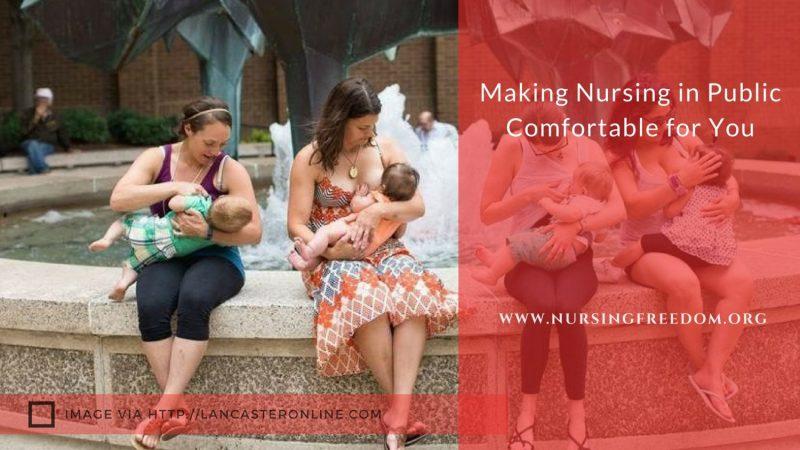 Nursing in Public Comfortable