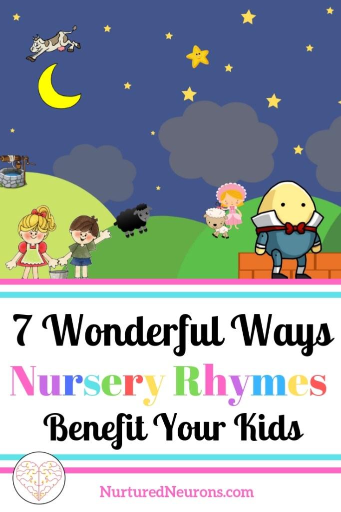 7 Wonderful Ways Nursery Rhymes Benefit Your Kids