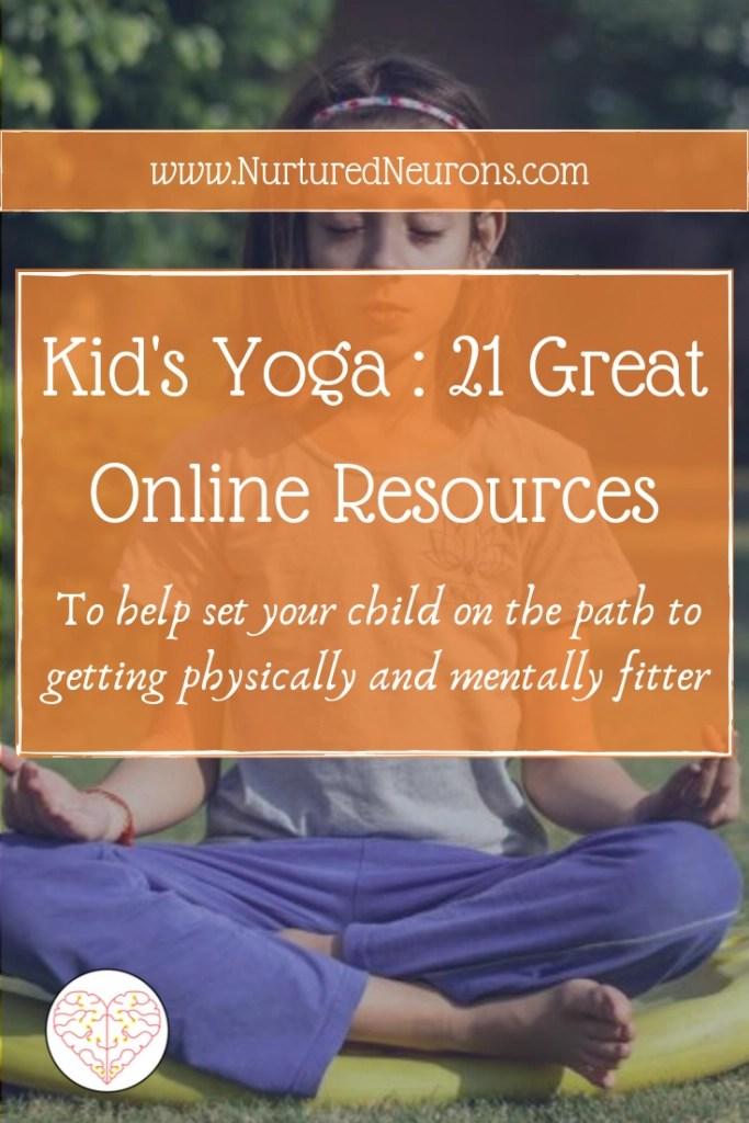 Kid's Yoga   21 Great Online Resources