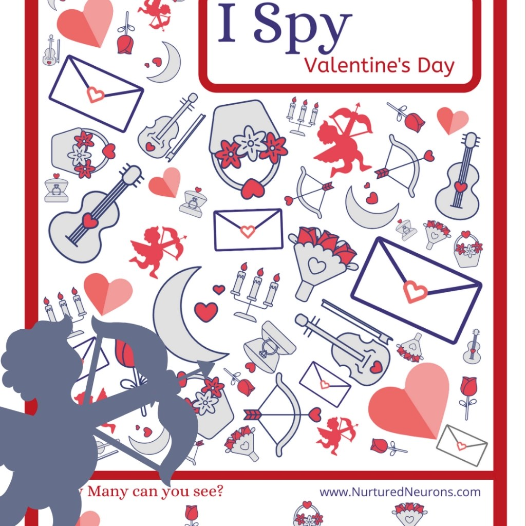 Free Printable Valentine S Day I Spy Game