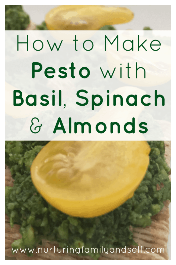 With 4 key ingredients and a few pantry items, you can have this delicious and healthy pesto made in under 15 minutes!