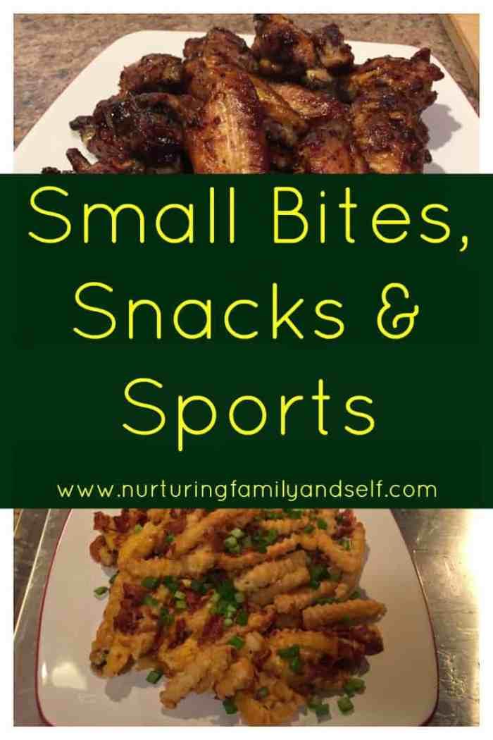 Small Bites-Snacks-Sports