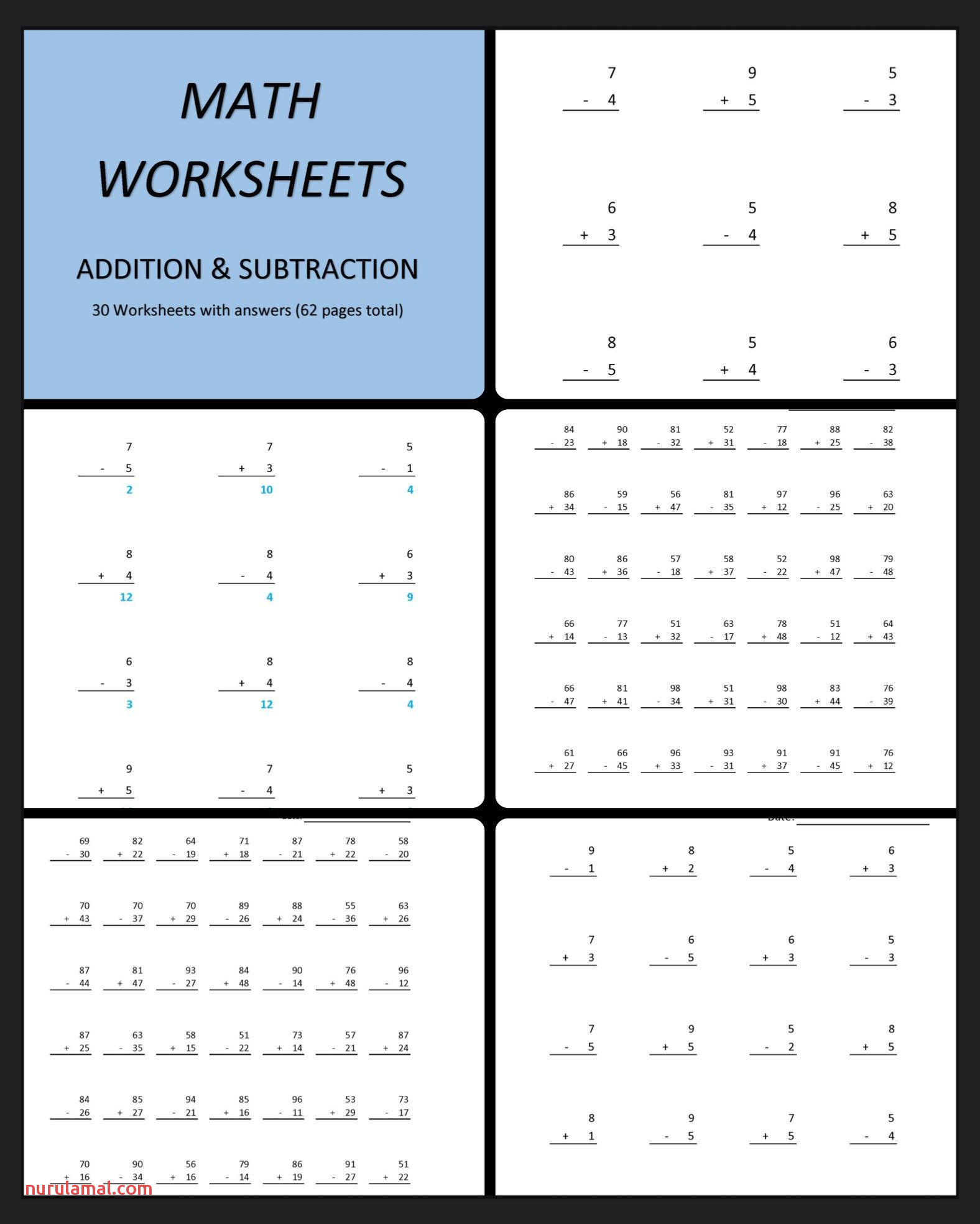 Picture Addition Worksheet Printable