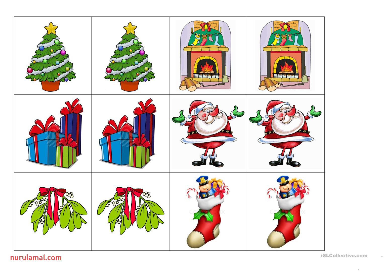 Preschool Worksheets Christmas Writing