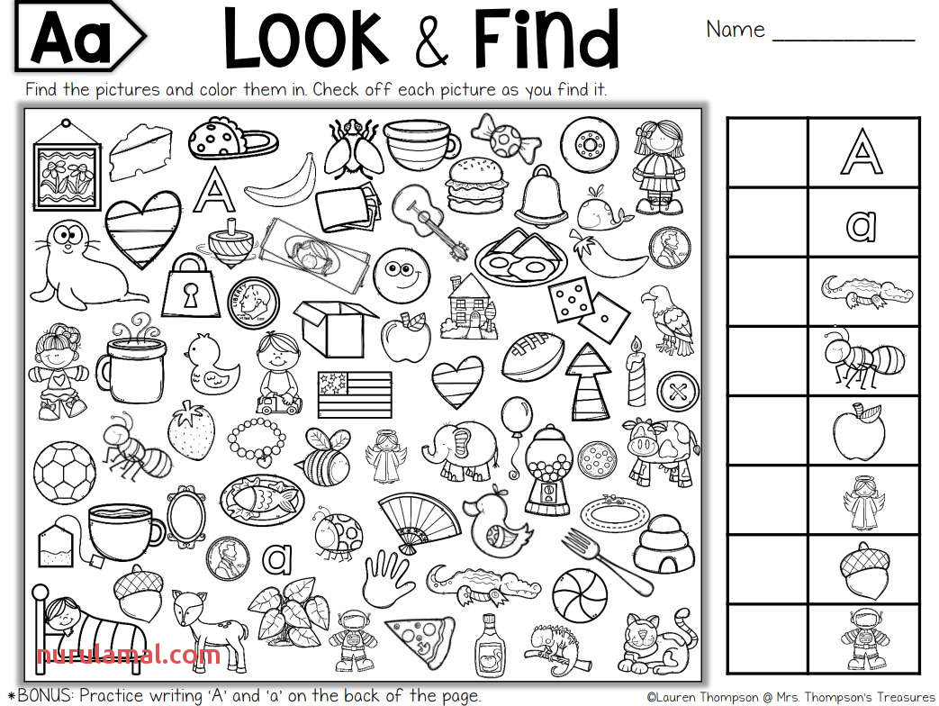 Color The Shapes Worksheet Printable Nurul Amal