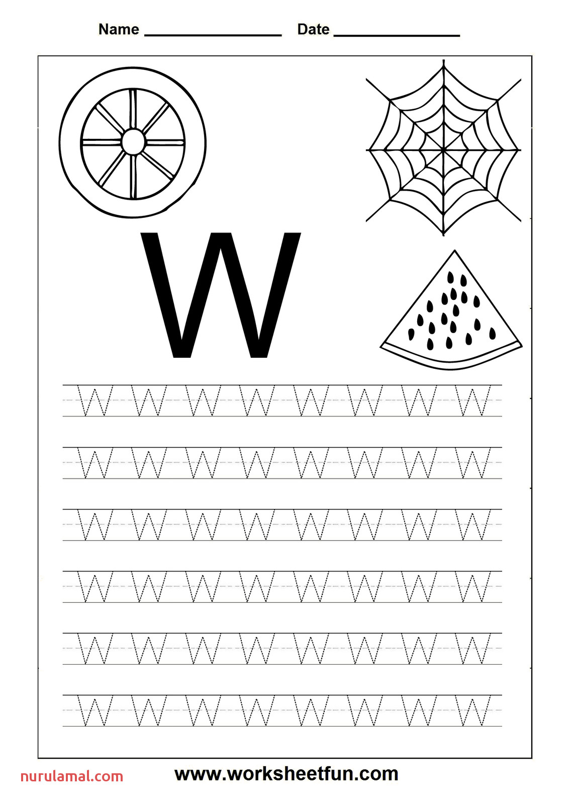 Line Pattern Tracing Preschool Worksheets