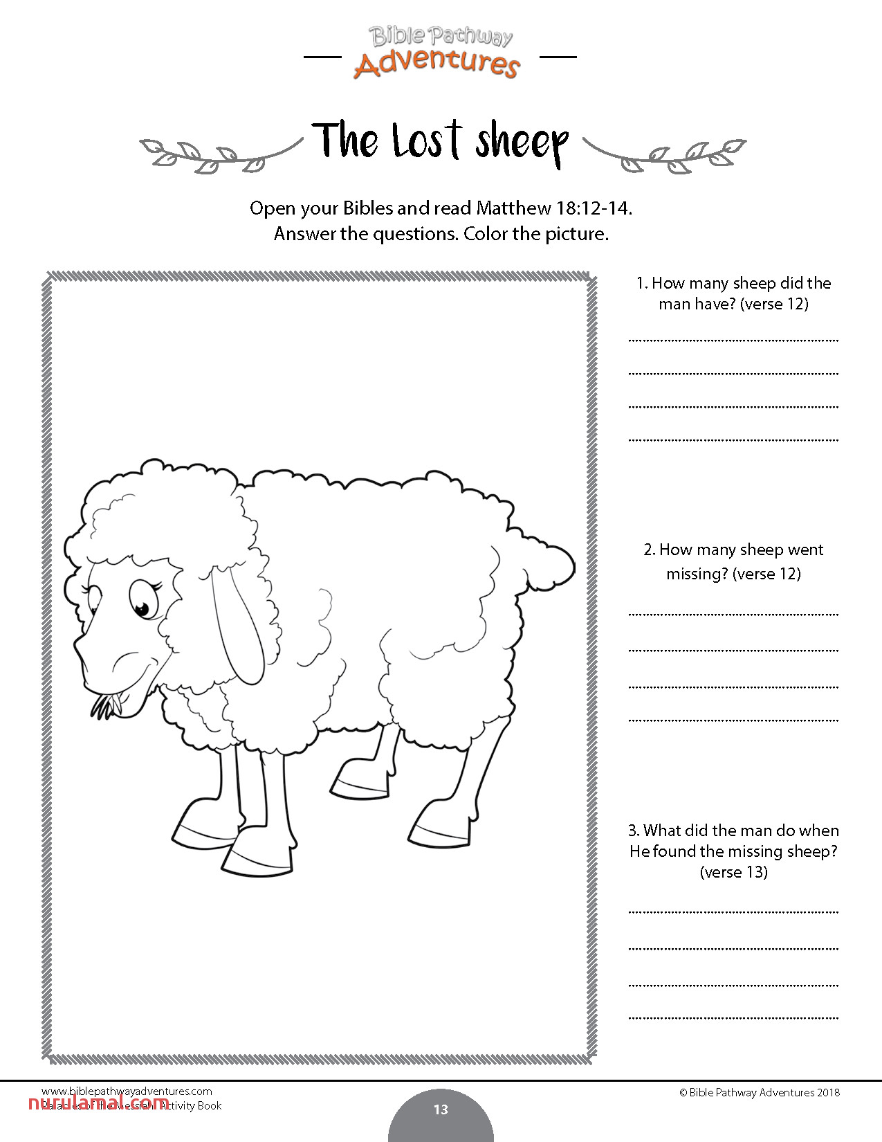 Kids Fun Worksheets Activity