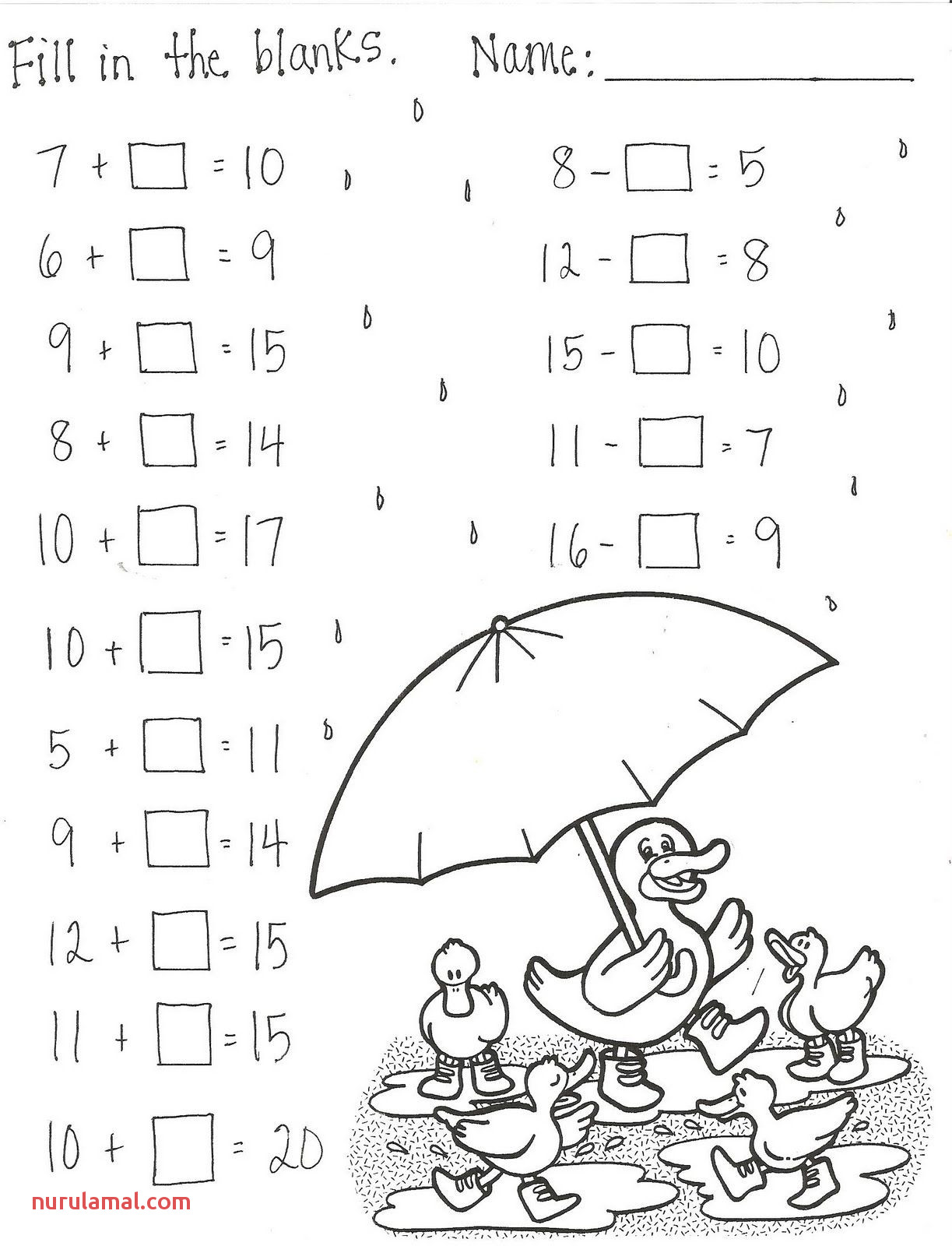 First Grade Math Worksheets Tens And Ones