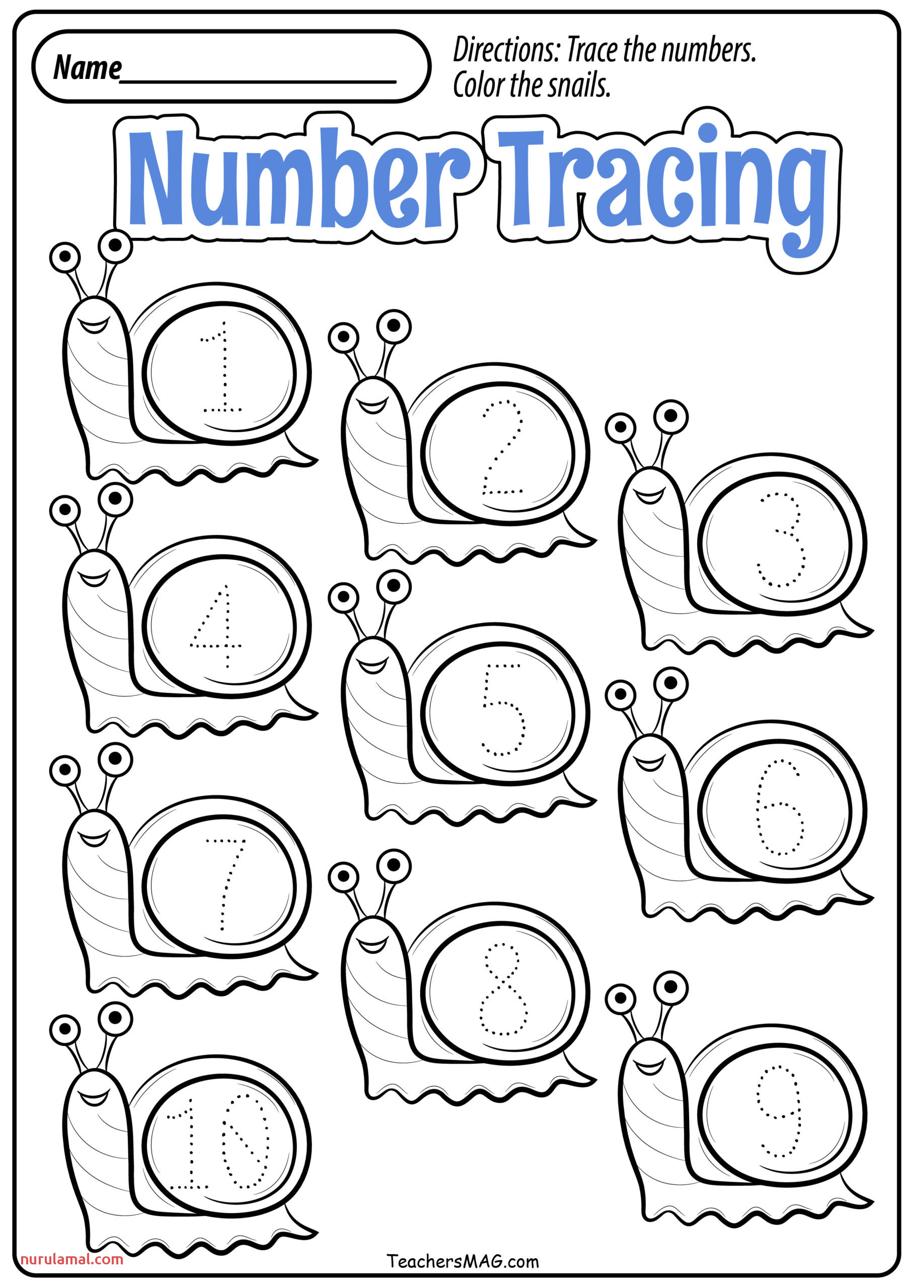 Preschool Writing Number 1 To 100 Worksheet