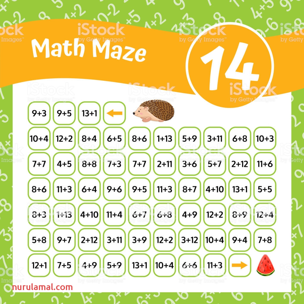 Free Printable Basic Math Worksheets Puzzles