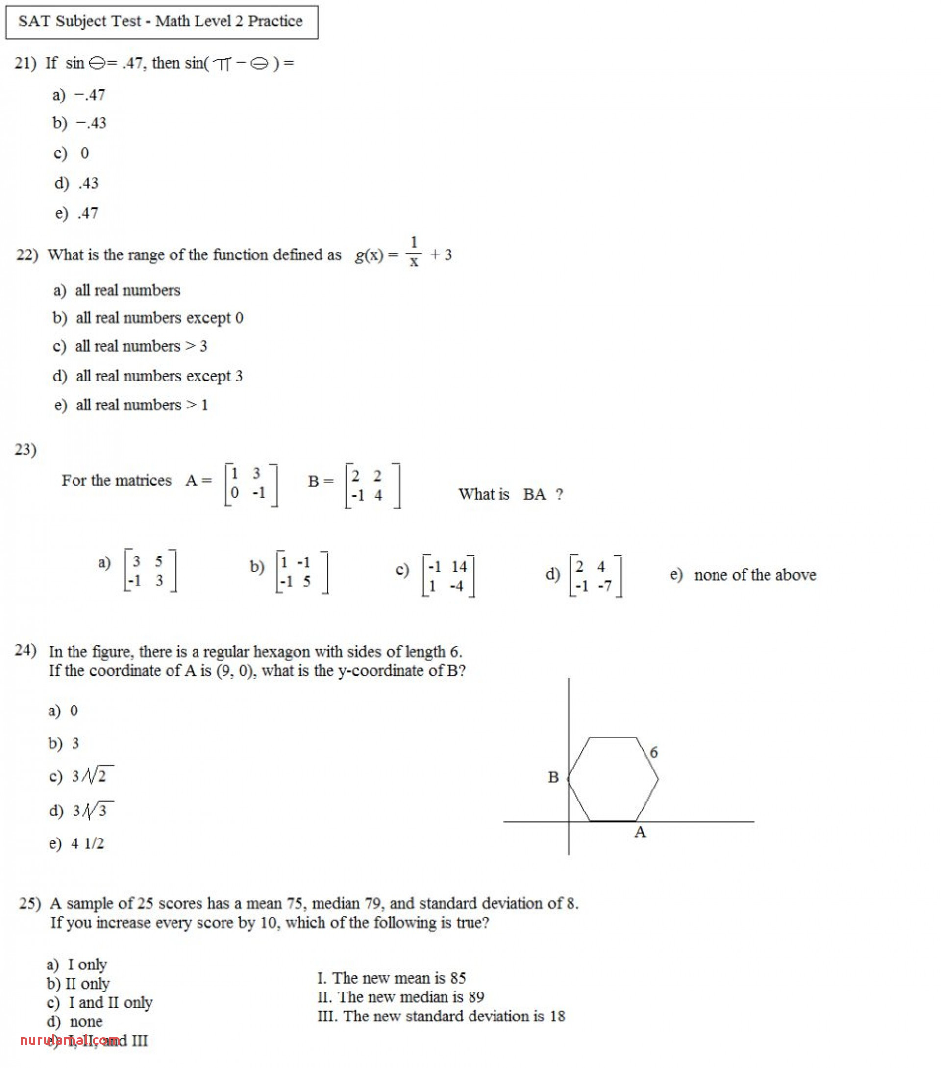Grade 10 Trigonometry Worksheets