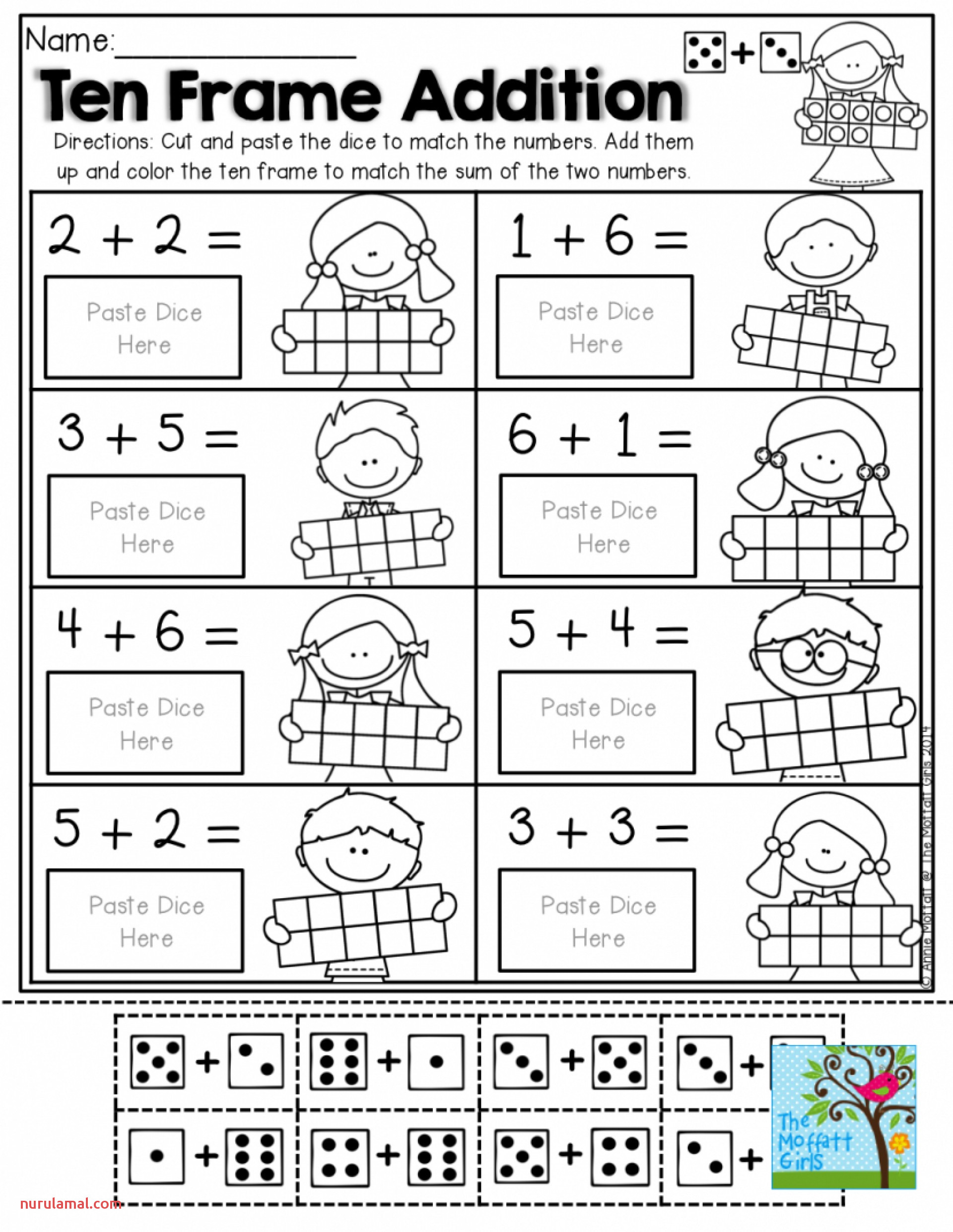 A And An Worksheets Free Printable 1st 001