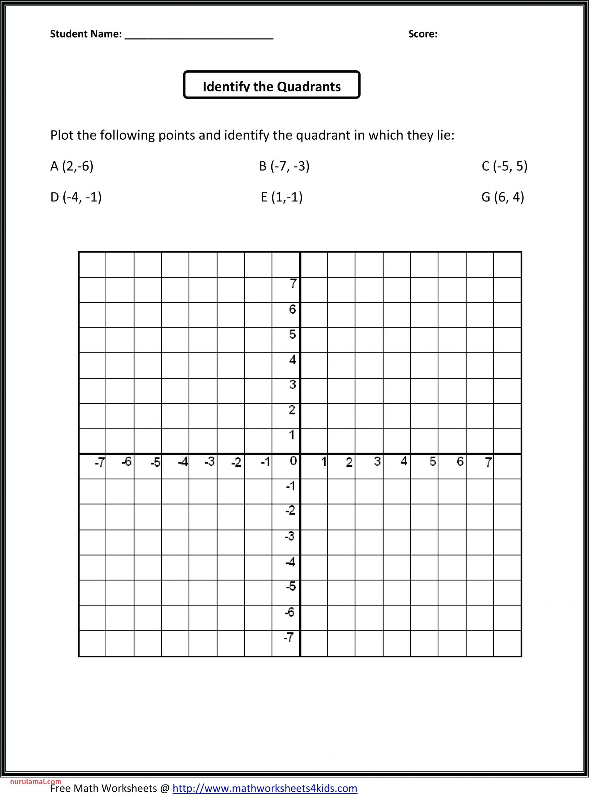 4th Grade Math Worksheets Common Core