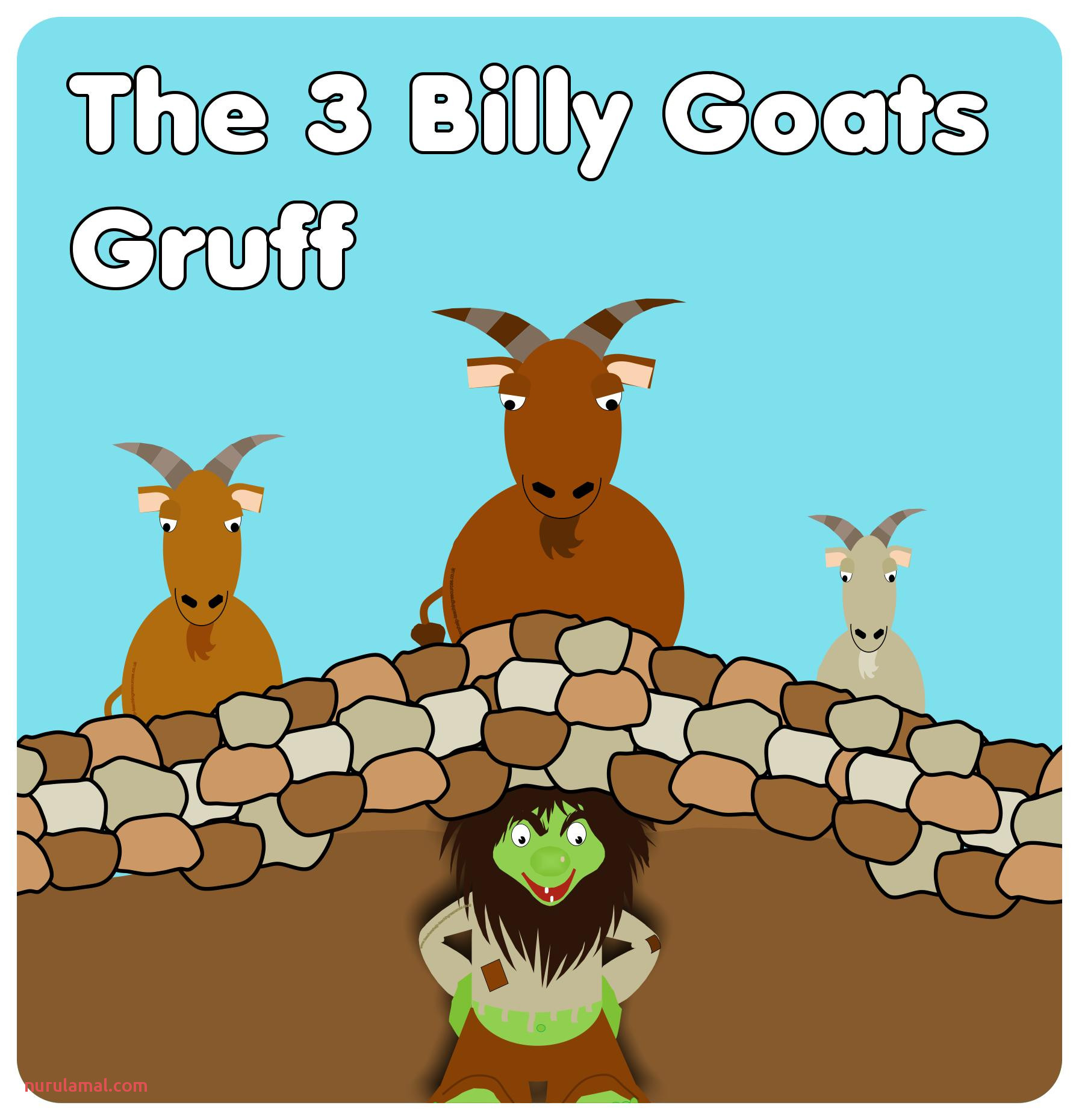 Three Billy Goats Gruff Worksheets Printable