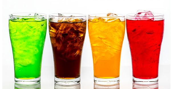 bevande zuccherate colorate