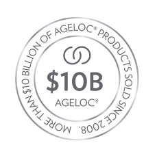 ageLOC $10B brand award logo
