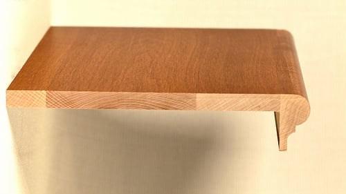 Stair Remodeling Prefinished Tread | Prefab Oak Stair Treads | Hardwood Flooring | Wood Flooring | Wood Stair | Solid Oak | Risers