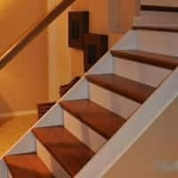 Remodel Reface Refinish Your Stairs With Nustair   Oak Replacement Stair Treads   Stringer   Stair Stringers   Risers   Wood Stair   White Oak