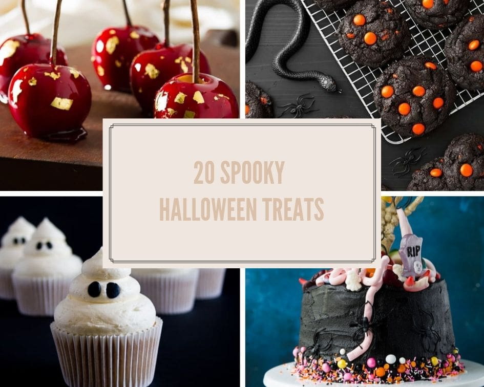 20 spooky halloween treats