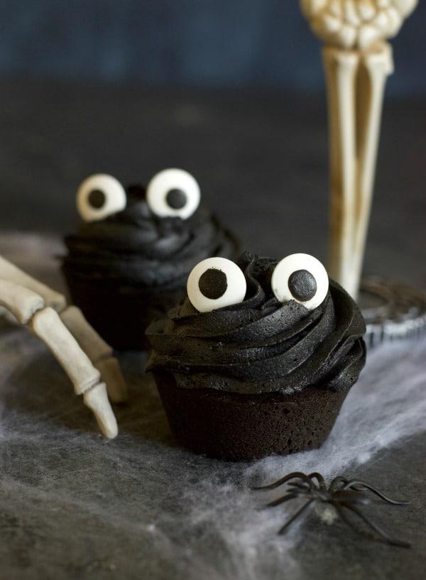 Gluten Free Black Cupcakes {aka Black Velvet Cupcakes}