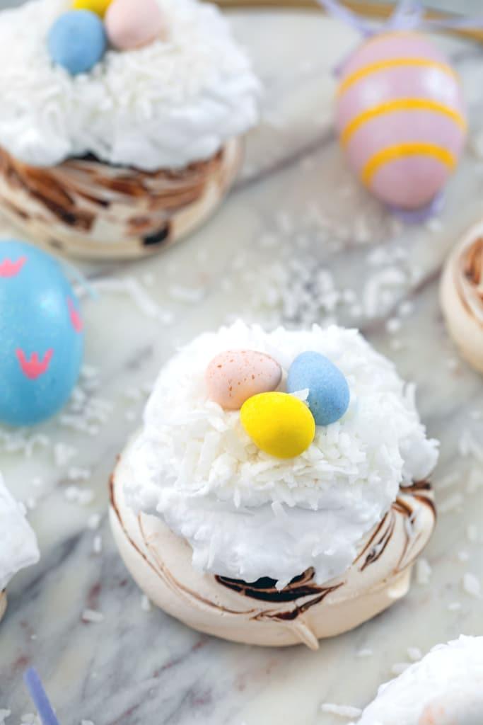 Mini Easter Pavlovas
