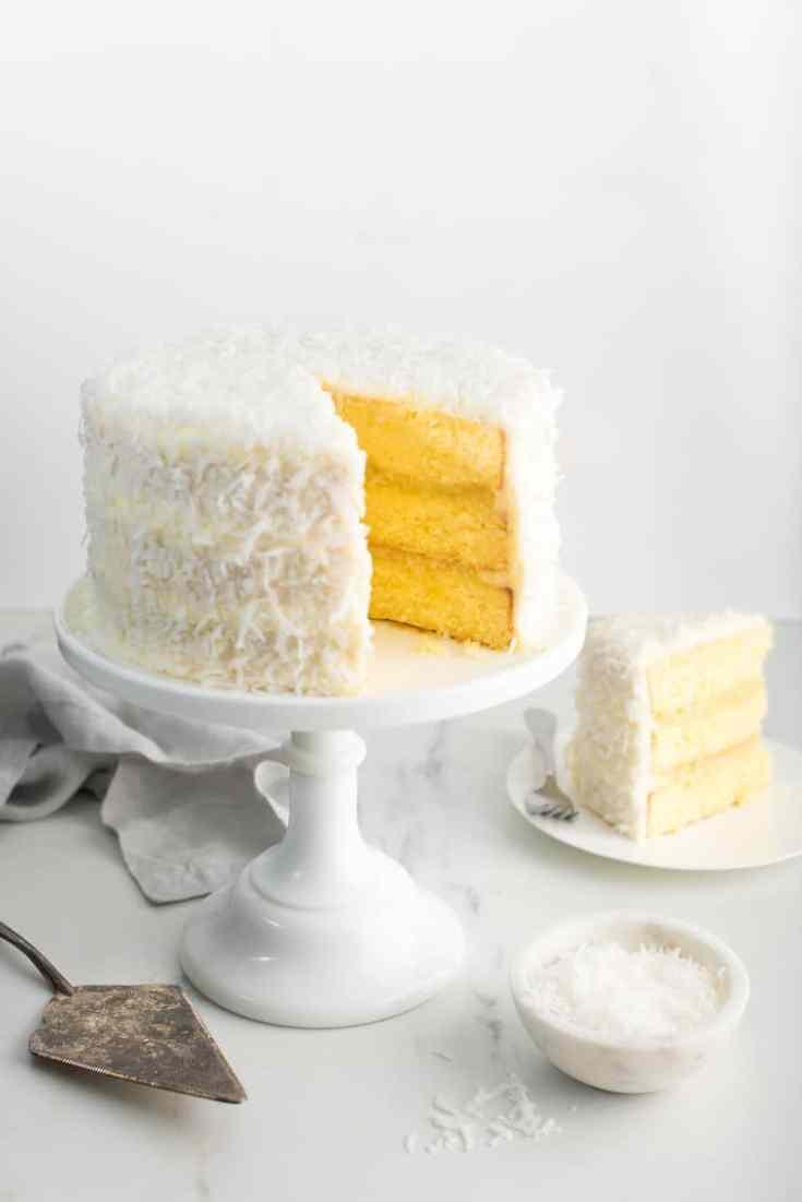 Pineapple Coconut Cake Recipe