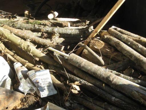 firewood and mini posts