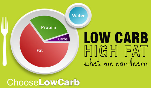 Low carb high fat Diet : What can we learn?