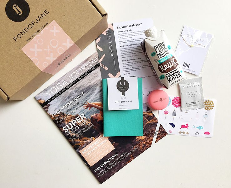 WIN: A 1 Month Fond of Jane Subscription Box