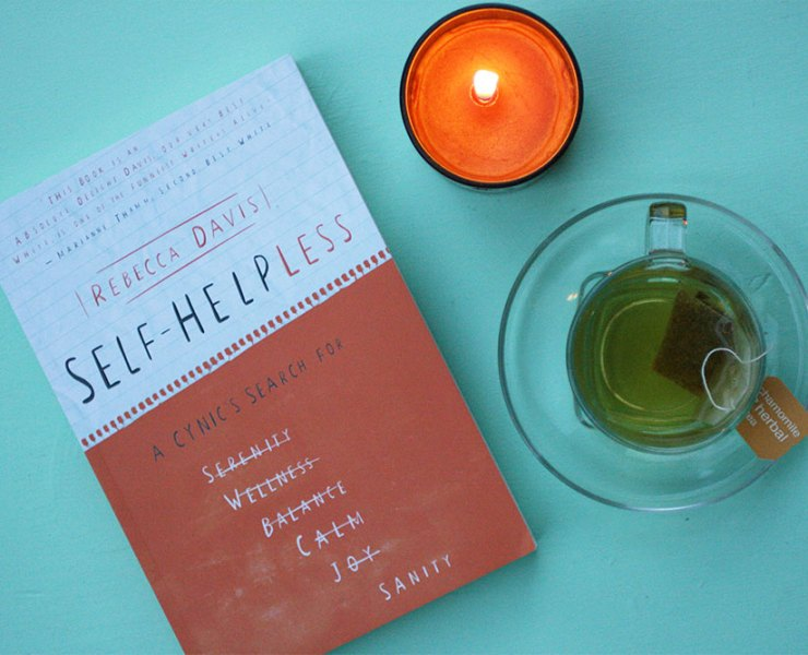 Self-Helpless by Rebecca Davis Review + Giveaway